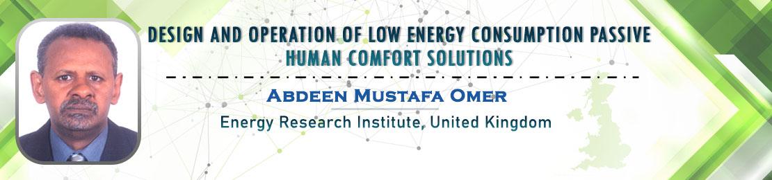 Abdeen Mustafa Omer, Material Science 2021, Scientex Conferences