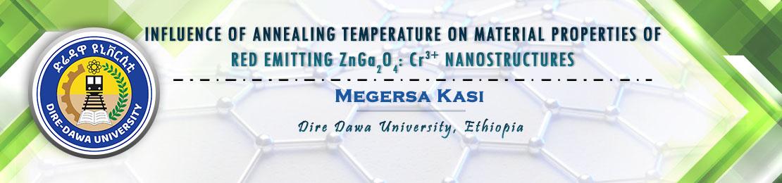 Megersa Kasi, Dire Dawa University, Ethiopia
