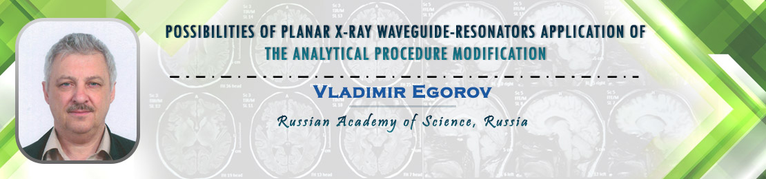 Vladimir Egorov, Russian Academy of Science, Russia
